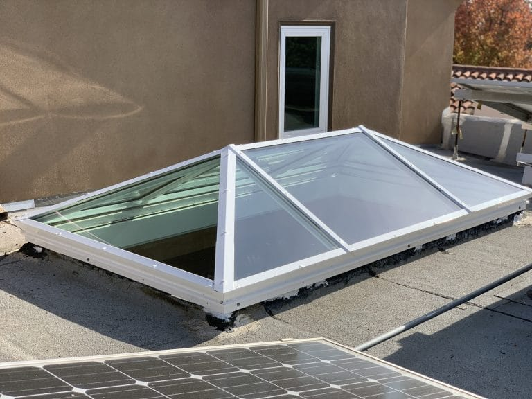 Skylight Guide - Custom Hip Ridge Skylight