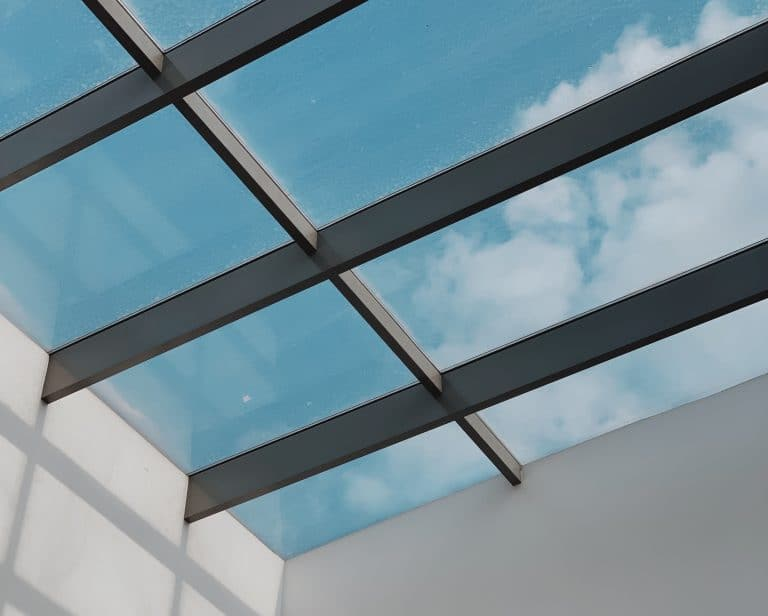 Skylight Repairs & Replacements - Resealed custom glass skylight