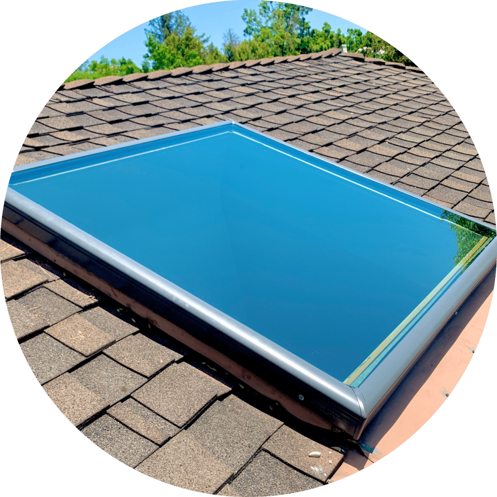 Fixed Glass Velux Skylight