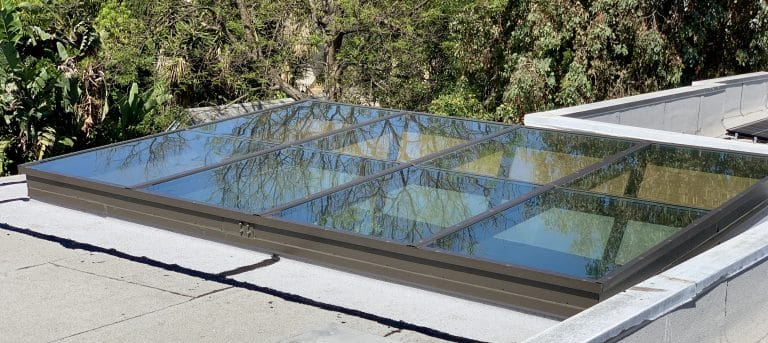 Custom Flat Glass Skylight